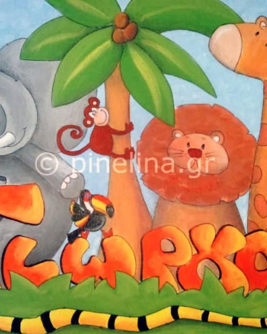 Ο Γιώργος στη ζούγκλα
